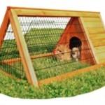 Du har brug for et bur hvis du vil have kaniner (foto lavprisdyrehandel.dk)